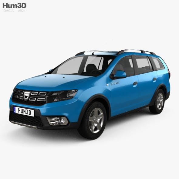 Dacia Logan MCV Stepway 2017 - 3DOcean Item for Sale