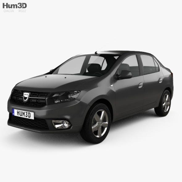Dacia Logan sedan 2016 - 3DOcean Item for Sale