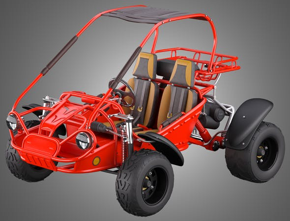 Off Road Buggy - 3d model by Markos3d | 3DOcean