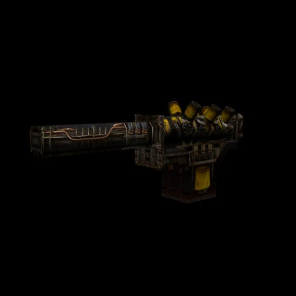 Low-poly weapon acid - 3DOcean Item for Sale