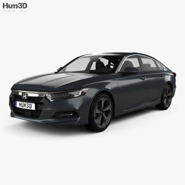 Honda Accord Touring US-spec sedan 2018 - 3DOcean Item for Sale