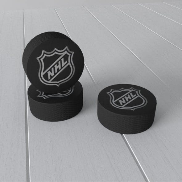 Hockey puck - 3DOcean Item for Sale