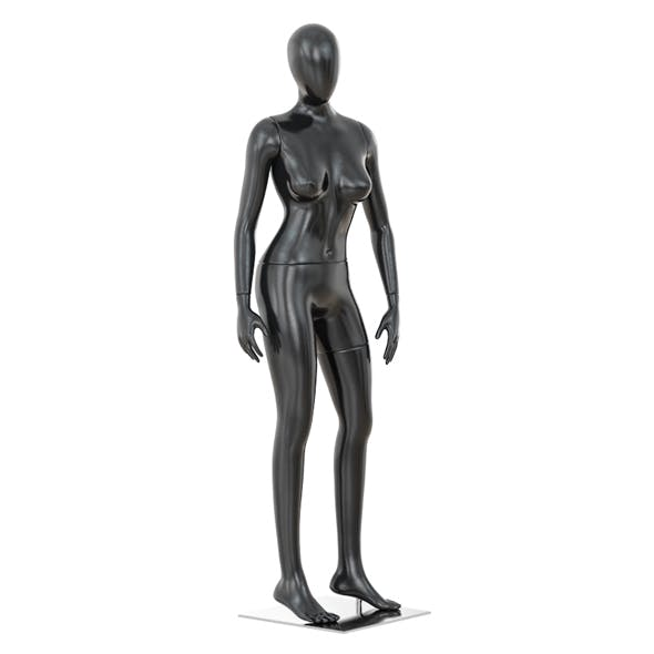 Abstract female mannequin 01 - 3DOcean Item for Sale