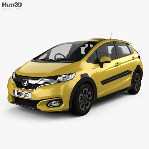 Honda Fit Hybrid Cross Style JP-spec 2017 - 3DOcean Item for Sale