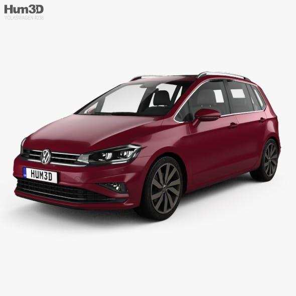 Volkswagen Golf Sportswan 2017 - 3DOcean Item for Sale