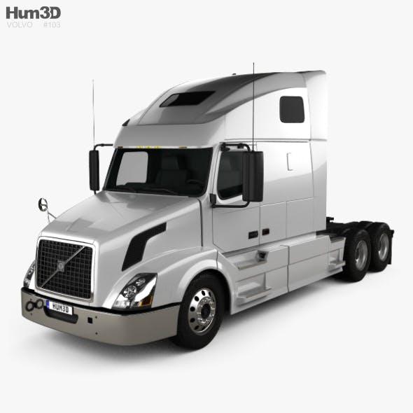 Volvo VNL (670) Tractor Truck 2011