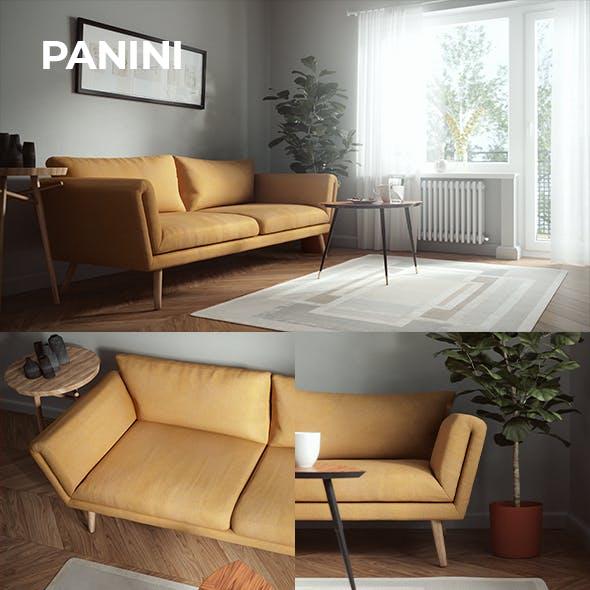 Panini Sofa - 3DOcean Item for Sale