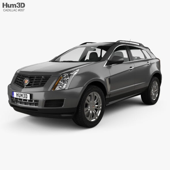 Cadillac SRX Base 2010 - 3DOcean Item for Sale