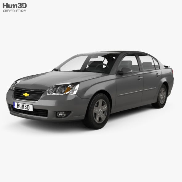 Chevrolet Malibu LTZ 2004 - 3DOcean Item for Sale