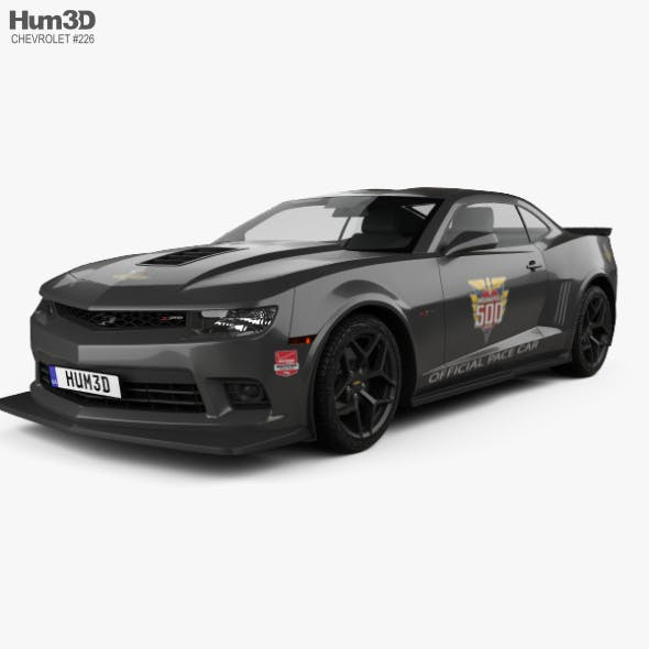Chevrolet Camaro Z28 Pace Car coupe 2014 - 3DOcean Item for Sale