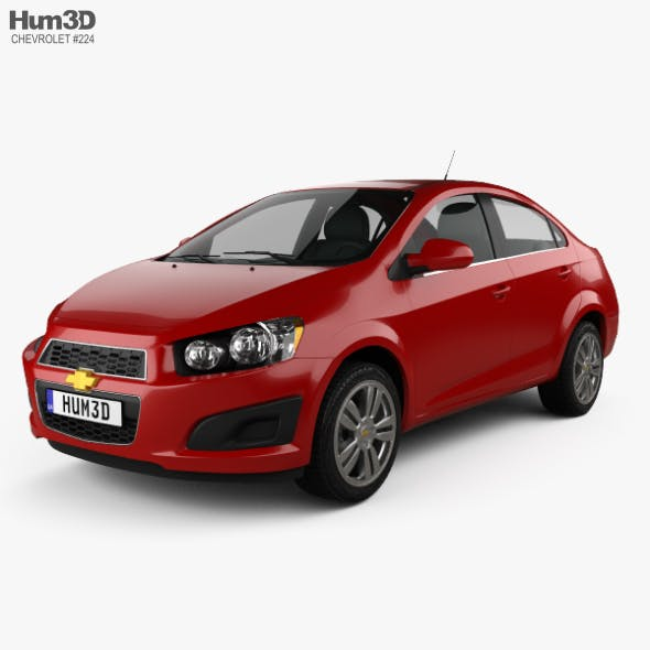 Chevrolet Sonic LT sedan 2015 - 3DOcean Item for Sale
