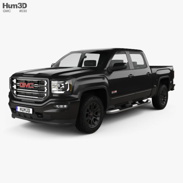 GMC Sierra 1500 Crew Cab Short Box All Terrain 2017