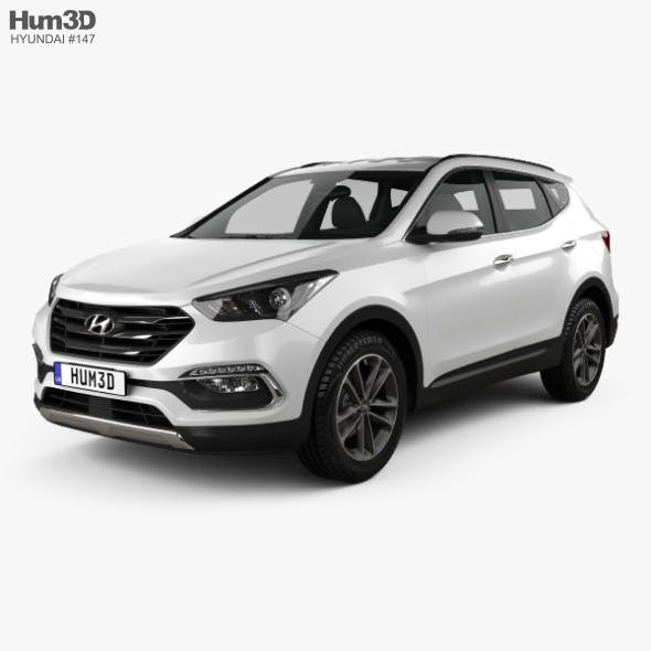 Hyundai Santa Fe (DM) 2015 - 3DOcean Item for Sale