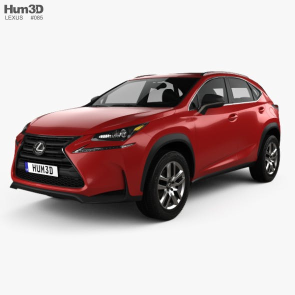 Lexus NX 200t 2014 - 3DOcean Item for Sale