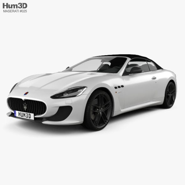 Maserati GranCabrio MC 2013 - 3DOcean Item for Sale