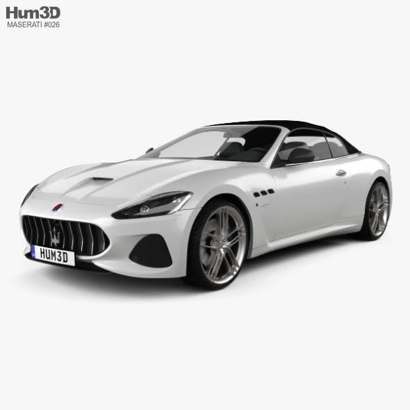 Maserati GranCabrio MC 2017 - 3DOcean Item for Sale