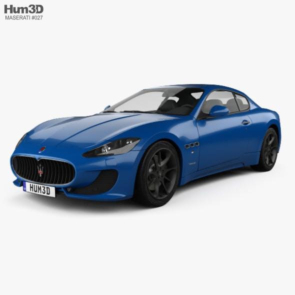 Maserati GranTurismo Sport 2012 - 3DOcean Item for Sale
