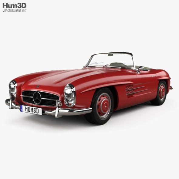 Mercedes-Benz 300 SL 1957 - 3DOcean Item for Sale
