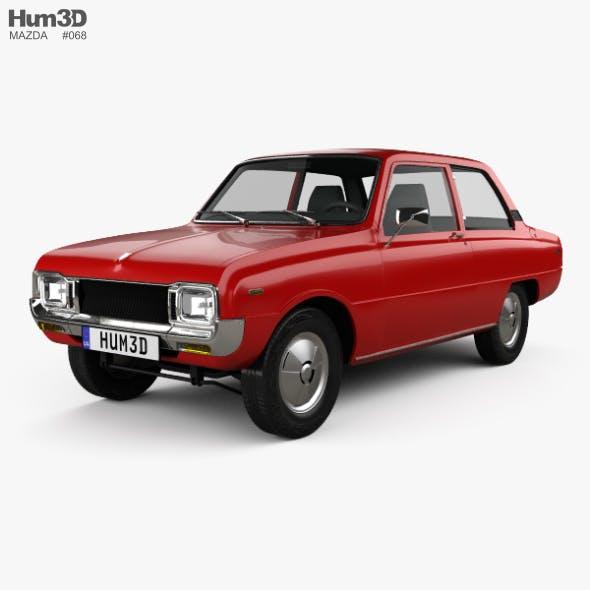 Mazda 1000 1973 - 3DOcean Item for Sale