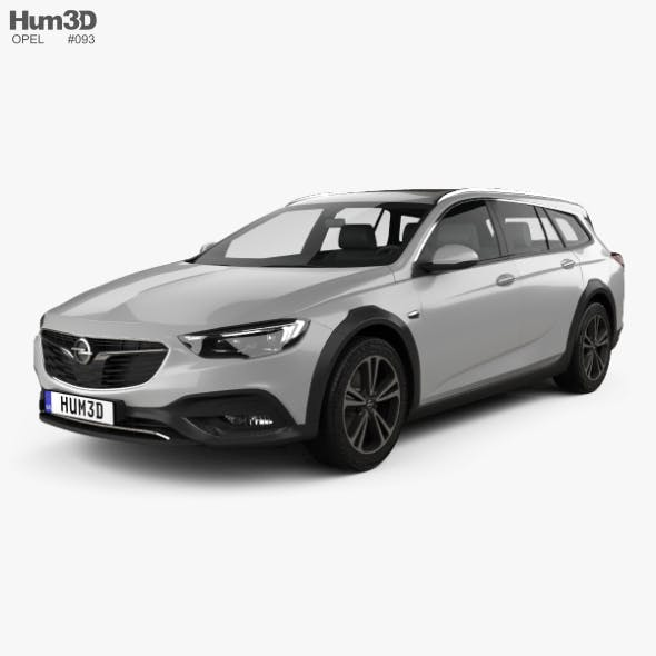 Opel Insignia Country Tourer 2017 - 3DOcean Item for Sale