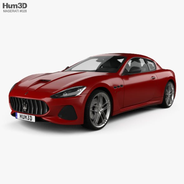 Maserati GranTurismo MC 2017 - 3DOcean Item for Sale