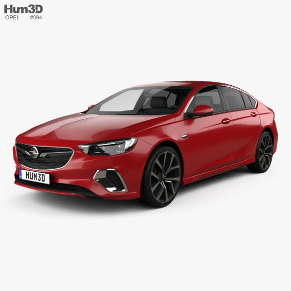 Opel Insignia GSi 2017 - 3DOcean Item for Sale