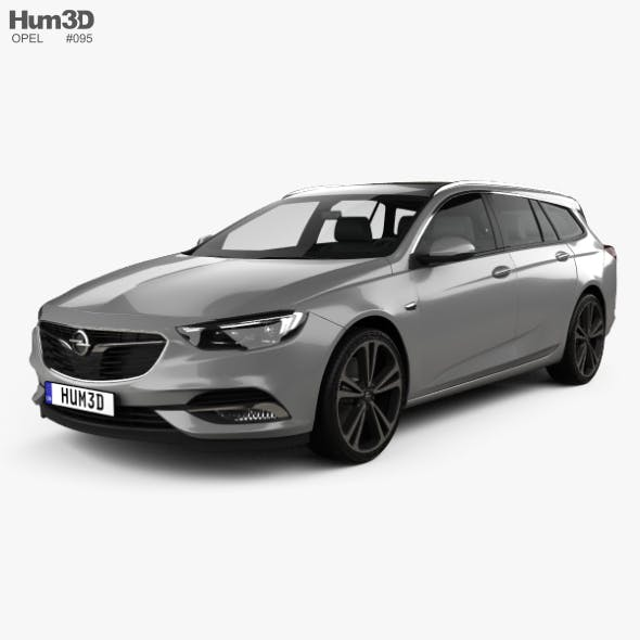 Opel Insignia Sports Tourer Turbo 4x4 2017