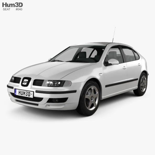 Seat Leon 1998 - 3DOcean Item for Sale