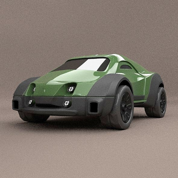Armox Concept Vehicle - 3DOcean Item for Sale