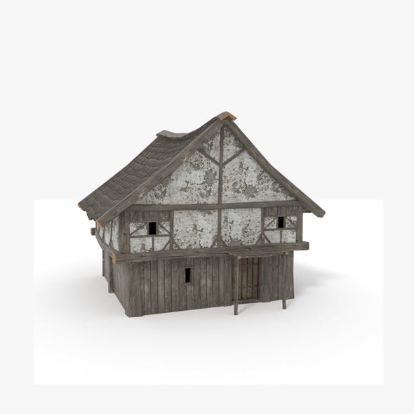 Medieval_House_PRB - 3DOcean Item for Sale