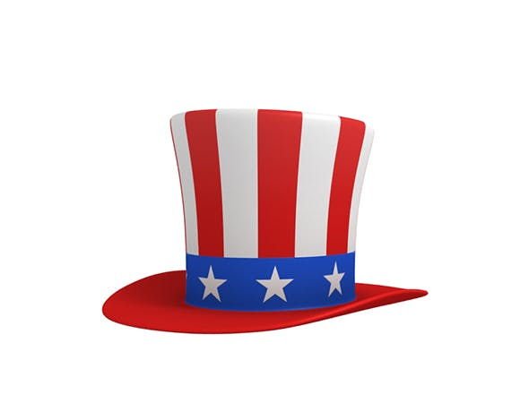 Uncle Sam's Hat - 3DOcean Item for Sale
