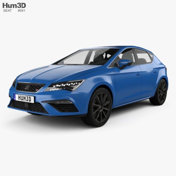Seat Leon Cupra 300 2017 - 3DOcean Item for Sale
