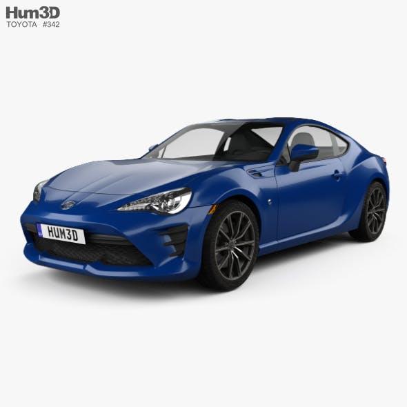 Toyota GT86 US-spec 2017 - 3DOcean Item for Sale