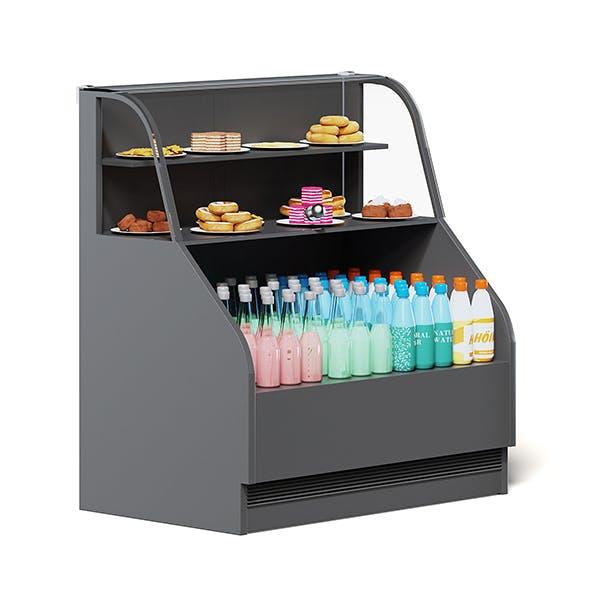 Market Display 3D Model - 3DOcean Item for Sale