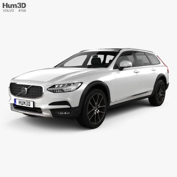 Volvo V90 T6 Cross Country 2016 - 3DOcean Item for Sale