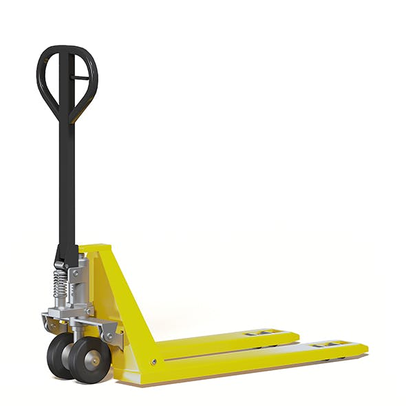 Pallet Truck 3D Model - 3DOcean Item for Sale