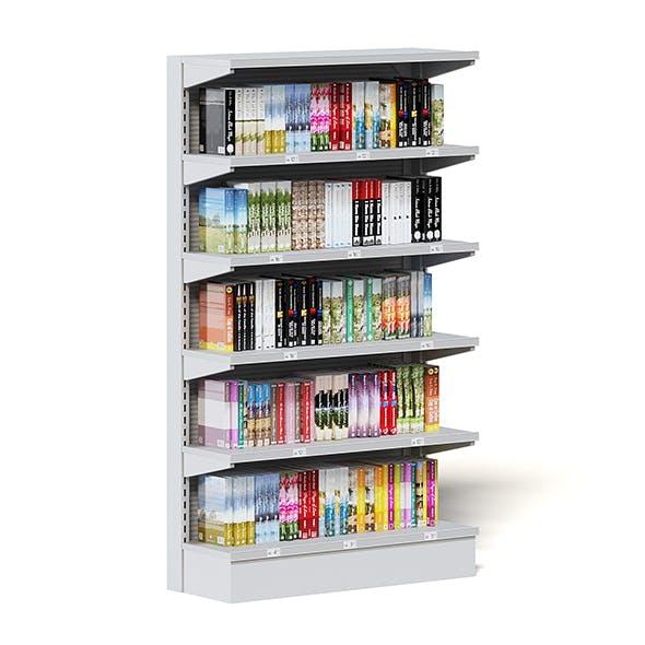Market Shelf 3D Model - Books - 3DOcean Item for Sale