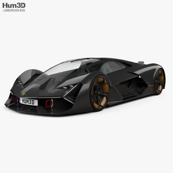 Lamborghini Terzo Millennio 2017 - 3DOcean Item for Sale