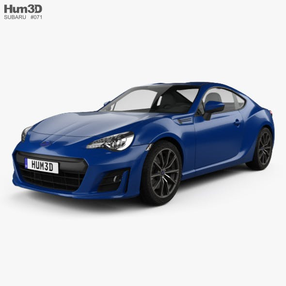 Subaru BRZ (ZC6) 2016 - 3DOcean Item for Sale
