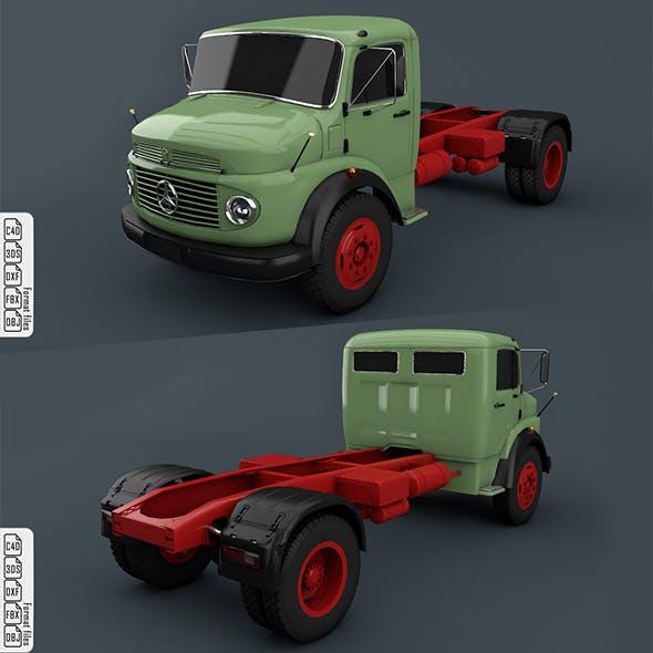 Mercedes-Benz Truck 1924-2624 Green - 3DOcean Item for Sale