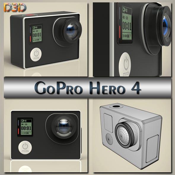 GoPro Hero 4 - 3DOcean Item for Sale