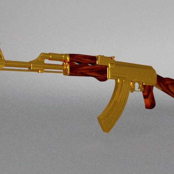 AK-47 (gold)