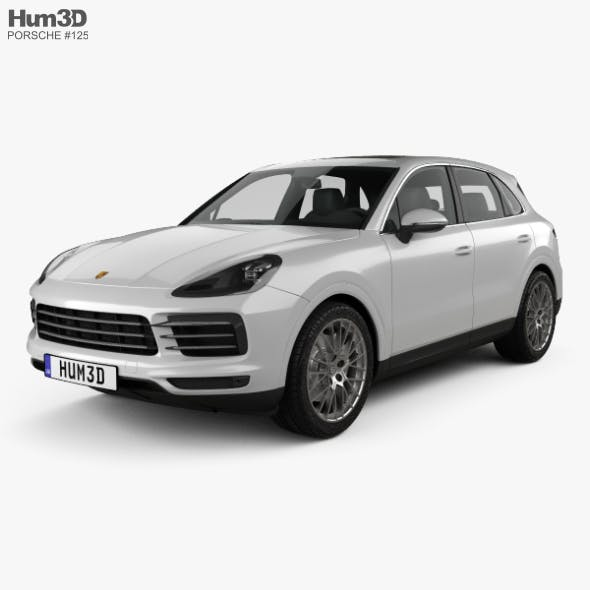 Porsche Cayenne S 2017 - 3DOcean Item for Sale
