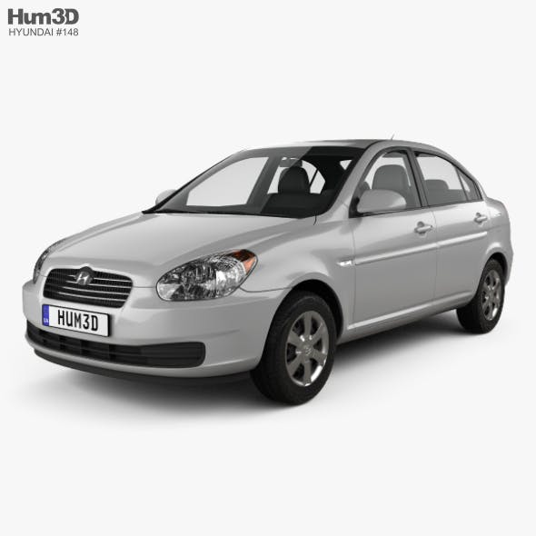 Hyundai Accent (MC) sedan 2006 - 3DOcean Item for Sale