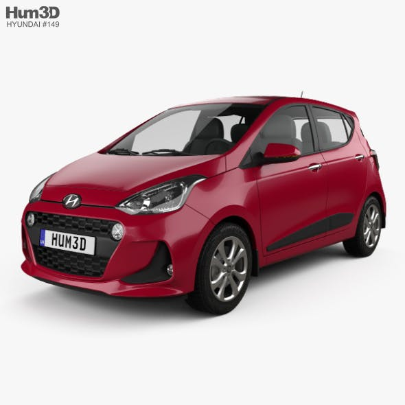 Hyundai i10 2017 - 3DOcean Item for Sale