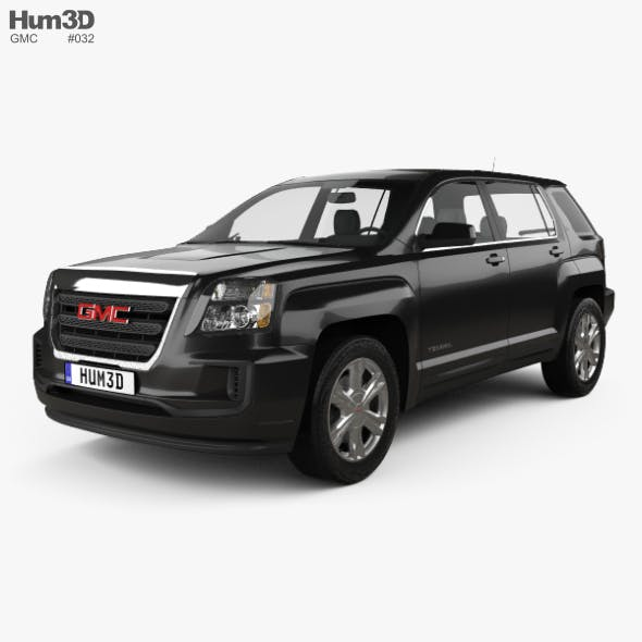 GMC Terrain SLE-1 2016 - 3DOcean Item for Sale