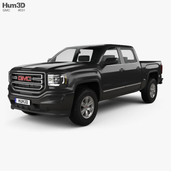 GMC Sierra 1500 SLE Crew Cab Short Box 2017