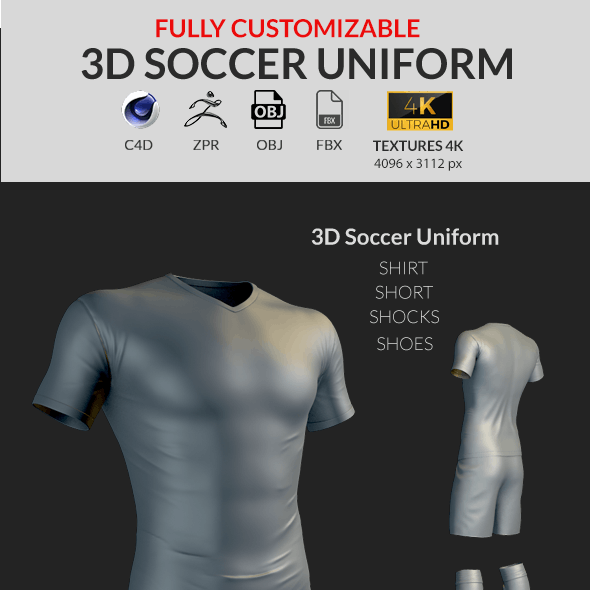 Uniform CG Textures & 3D Models from 3DOcean
