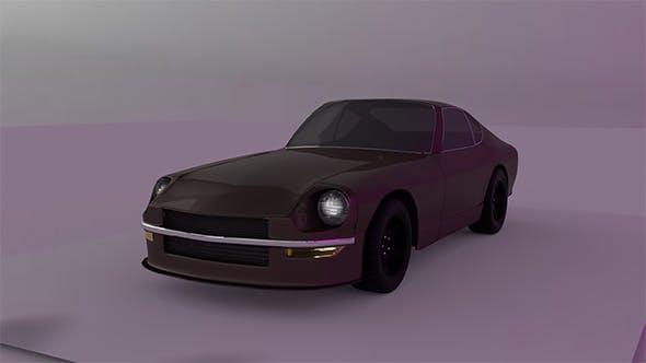 Nissan Datsun 240z by Yappie - 3DOcean Item for Sale