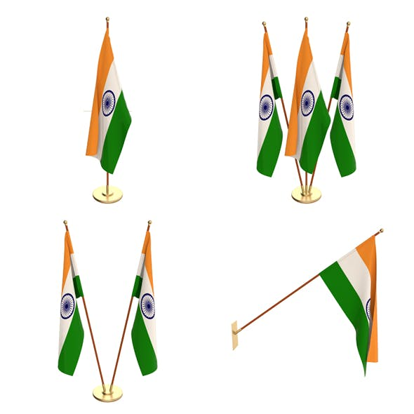 India Flag Pack - 3DOcean Item for Sale